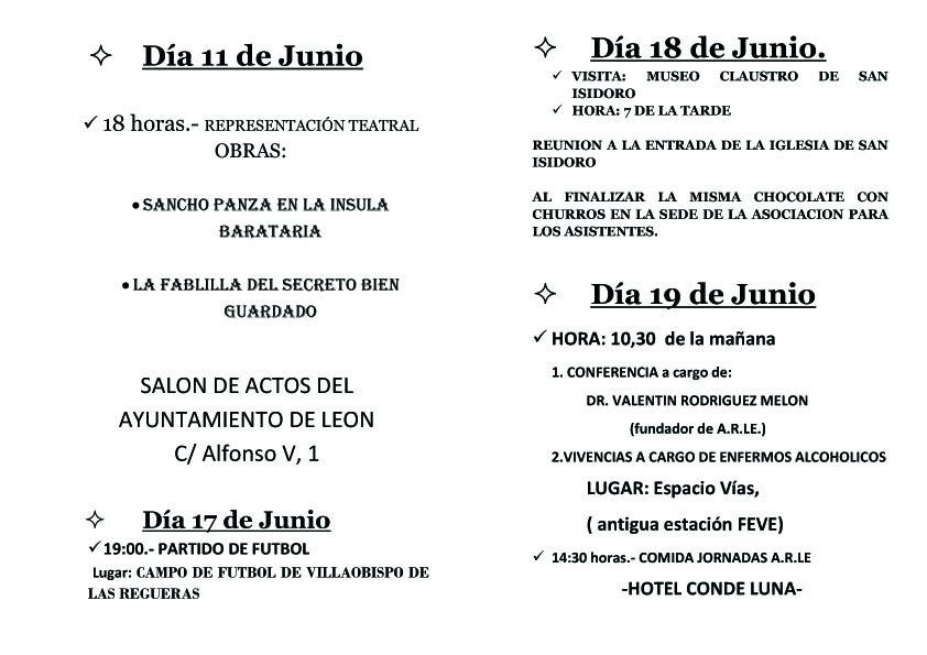 Diptico Jornadas ARLE20162
